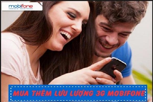 Mua thêm dung lượng 3G Mobi