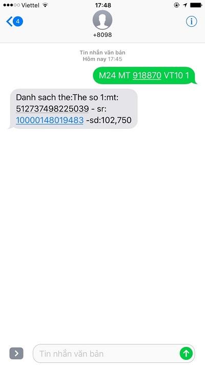 mua thẻ cào bằng sms