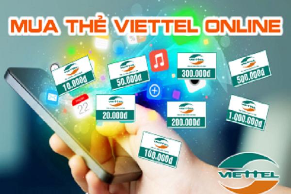 Mua thẻ điện thoại Viettel