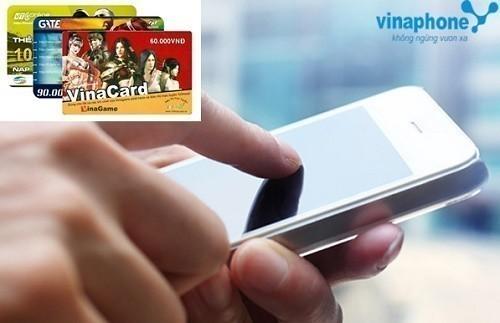 hướng dẫn mua thẻ gate bằng mạng vinaphone
