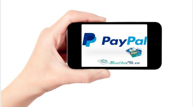 mua thẻ điện thoại bằng Paypal