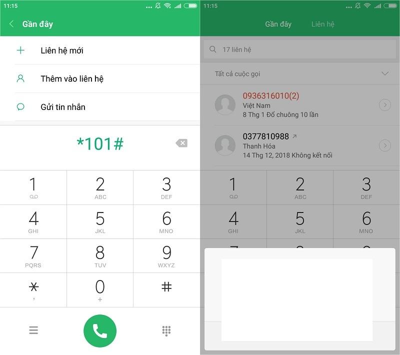 Kiểm tra số điện thoại VinaPhone đang dùng bằng mã USSD