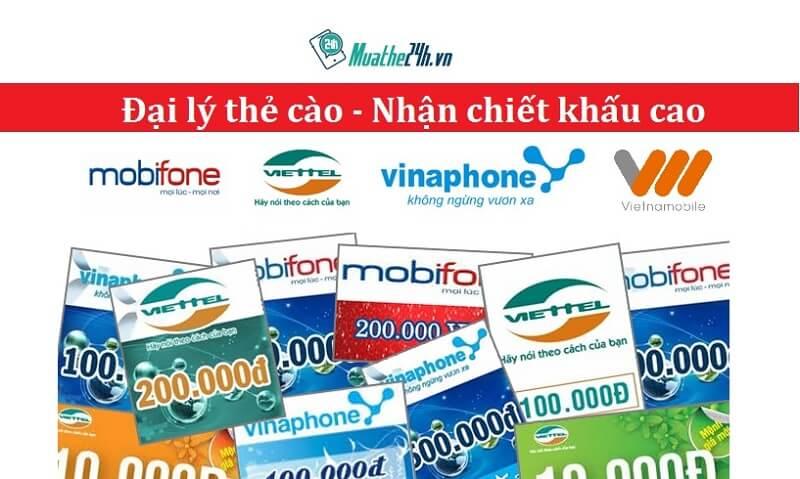 quyền lợi với cách đăng ký làm đại lý bán thẻ điện thoại