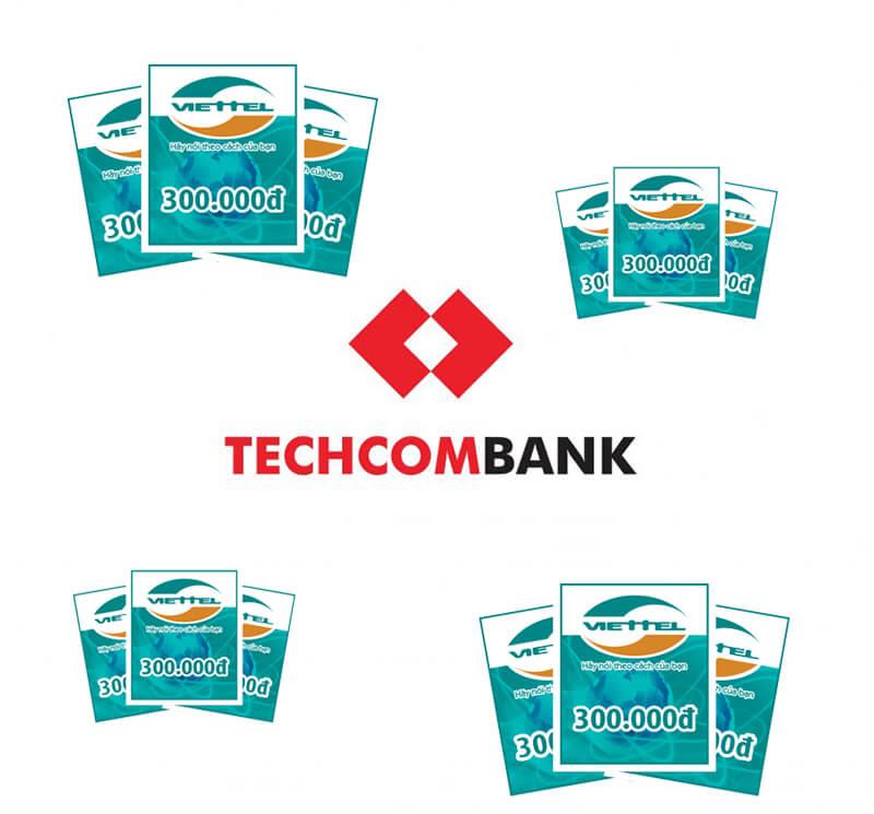 Giới thiệu mua thẻ điện thoại bằng tài khoản techcombank