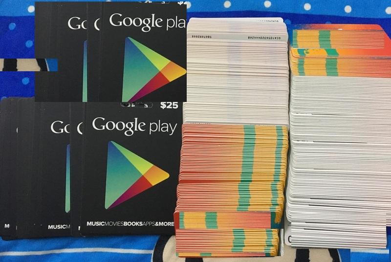 """""""Tâm đắc"""" với việc mua thẻ điện thoại bằng Google play siêu rẻ"""