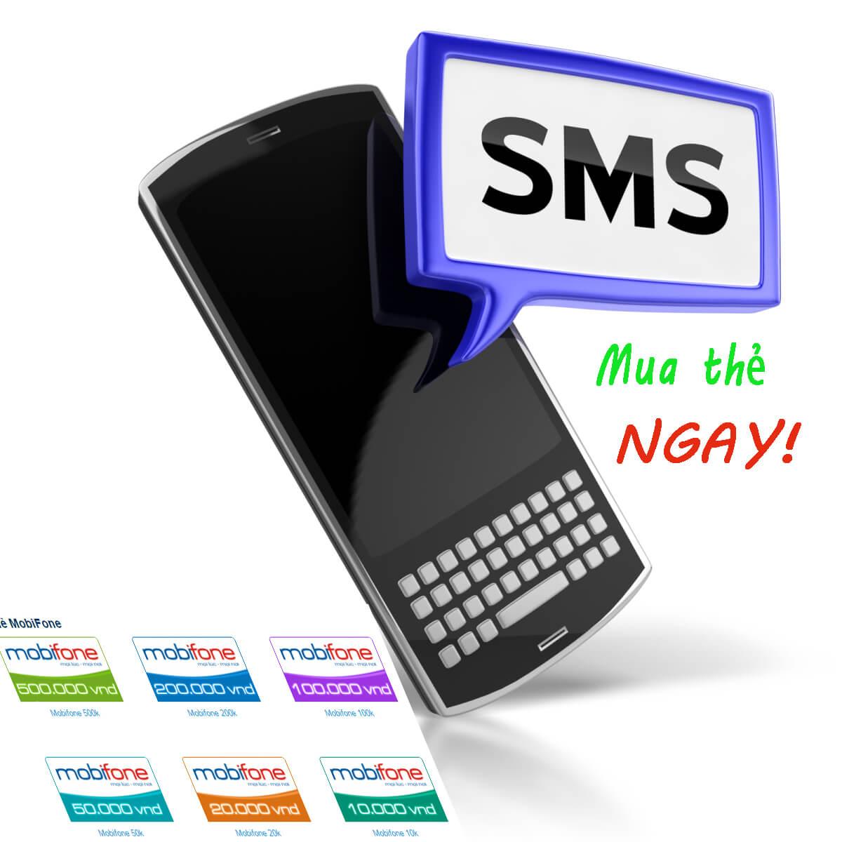 mua thẻ điện thoại vietnamobile bằng sms
