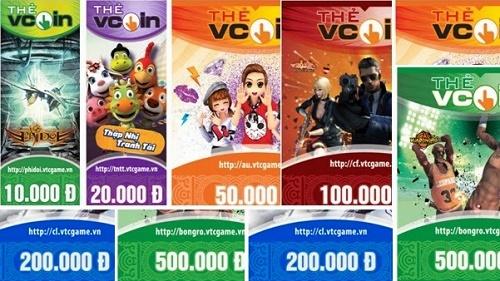 Mua thẻ Vcoin online nhanh nhất