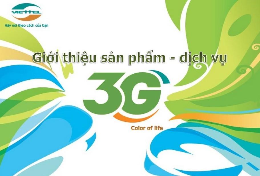 nạp tiền Viettel 3G