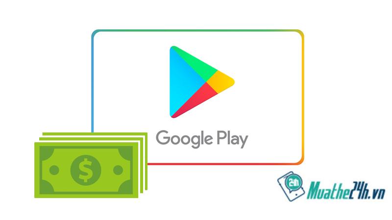 Thanh toán mua sắm ứng dụng trên Google Play bằng thẻ điện thoại