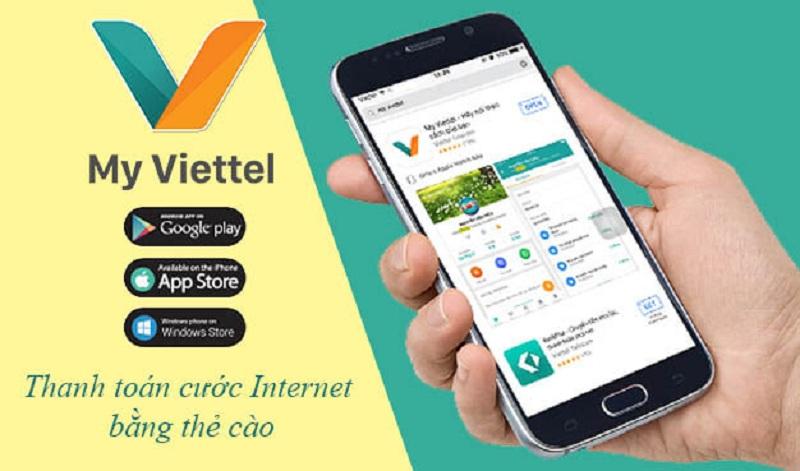 Sử dụng ứng dụng my Viettel
