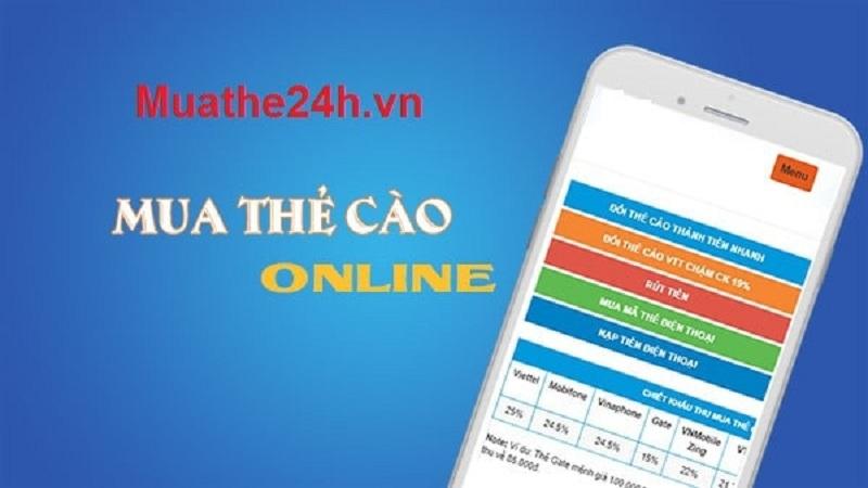 Các tính năng của ứng dụng muathe24h.vn rất phù hợp với người dùng